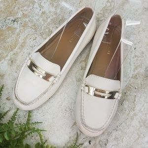 Coach Olympia Pebble Leather Loafers
